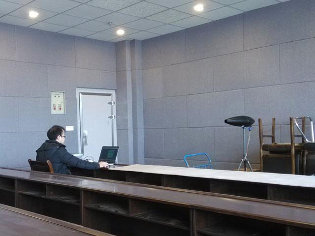 四川音乐学院广播室审片室