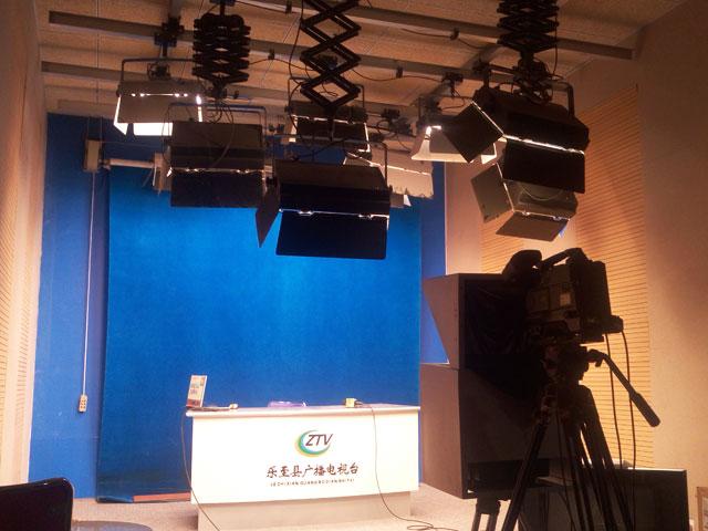 乐至县广播电视台演播厅录音棚千赢国际qy88com改造