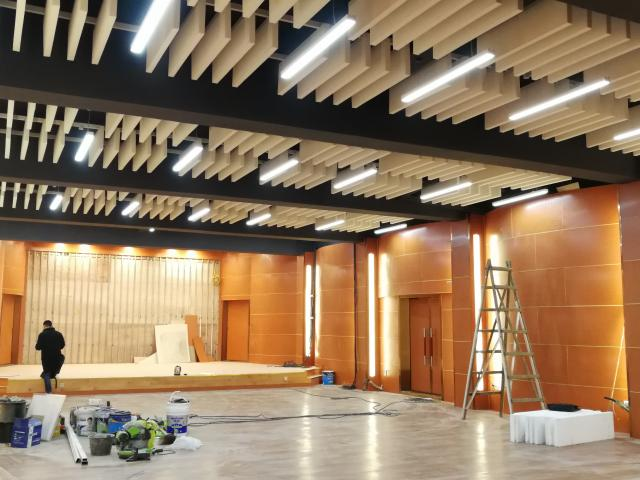 合江县文化馆多功能厅建筑龙8国际电脑版工程