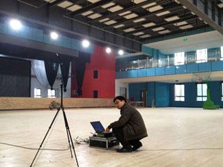 建筑千赢国际qy88com厅堂音质检测