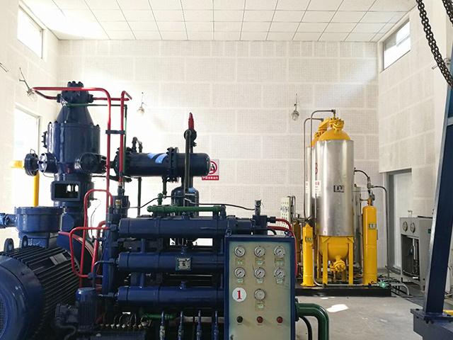 德阳燃气公司加气站降噪工程